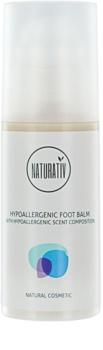 Naturativ Body Care Hypoallergenic bálsamo regenerador para pies agrietados
