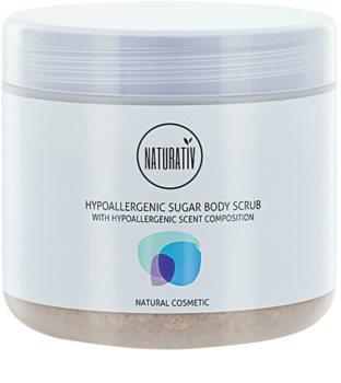 Naturativ Body Care Hypoallergenic cukrový peeling na tělo