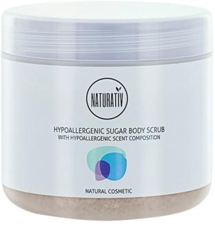 Naturativ Body Care Hypoallergenic Zucker-Peeling für den Körper