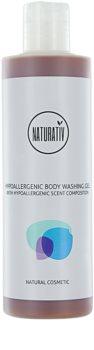 Naturativ Body Care Hypoallergenic gel de dus reface bariera protectoare a pielii