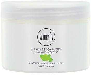 Naturativ Body Care Relaxing Körperbutter mit glättender Wirkung