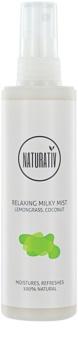 Naturativ Body Care Relaxing spray leitoso para uma pele suave e mais hidratada