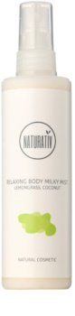 Naturativ Body Care Relaxing spray leitoso para uma pele suave e mais hidratada