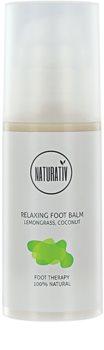 Naturativ Body Care Relaxing Fusscreme mit regenerierender Wirkung
