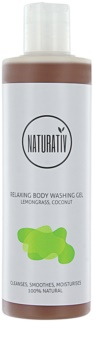 Naturativ Body Care Relaxing tusfürdő gél glicerinnel