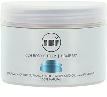 Naturativ Body Care Home Spa odżywcze masło do ciała
