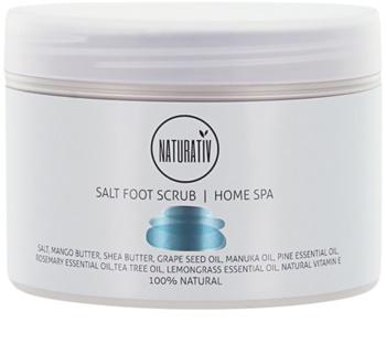Naturativ Body Care Home Spa solný peeling na nohy