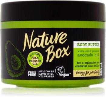 Nature Box Avocado vyživujúce telové maslo