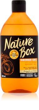 Nature Box Apricot doccia gel rivitalizzante