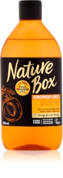 Nature Box Apricot gel de dus revitalizant