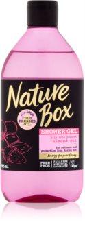 Nature Box Almond омекотяващ душ гел срещу суха кожа
