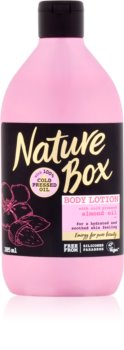 Nature Box Almond зволожуюче молочко для тіла для чутливої шкіри