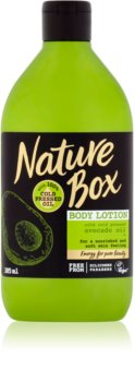 Nature Box Avocado lotiune de corp hranitoare