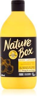 Nature Box Macadamia výživné telové mlieko  s hydratačným účinkom
