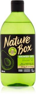 Nature Box Avocado pečující sprchový gel