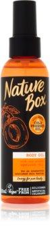 Nature Box Apricot ulei de corp intens hrănitor