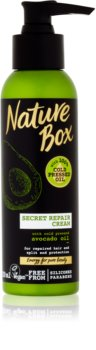 Nature Box Avocado hĺbkovo regeneračný krém na rozstrapkané končeky vlasov
