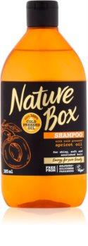 Nature Box Apricot shampoo nutriente per capelli brillanti e morbidi