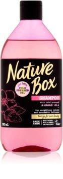 Nature Box Almond shampoo volumizzante per la densità dei capelli