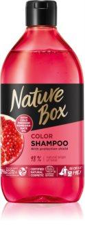 Nature Box Pomegranate shampoing hydratant et revitalisant protection de couleur