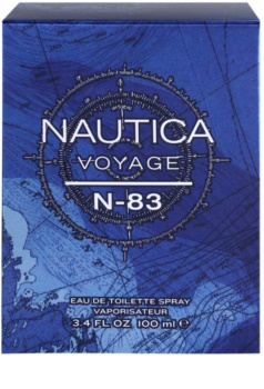 Nautica Voyage N-83 eau de toilette pentru barbati 100 ml