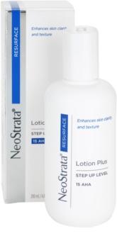 NeoStrata Resurface зволожуюче молочко-пілінг для обличчя та тіла