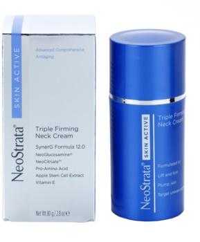 NeoStrata Skin Active vyhlazující a zpevňující krém ke sjednocení pigmentace na krku a dekoltu