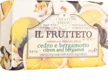 Nesti Dante Il Frutteto Citron and Bergamot přírodní mýdlo