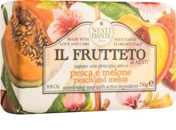 Nesti Dante Il Frutteto Peach and Melon Naturseife