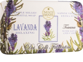 Nesti Dante Dei Colli Fiorentini Lavender Relaxing Natural Soap