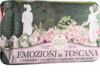 Nesti Dante Emozioni in Toscana Garden in Bloom Natural Soap