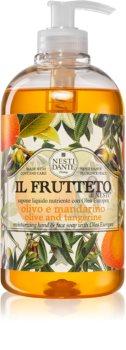 Nesti Dante Il Frutteto Olive and Tangerine tekoče milo za roke