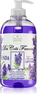 Nesti Dante Dei Colli Fiorentini Lavender Relaxing tekoče milo za roke z dozirno črpalko