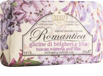 Nesti Dante Romantica Tuscan Wisteria & Lilac přírodní mýdlo