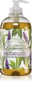 Nesti Dante Romantica Wild Tuscan Lavender and Verbena nežno tekoče milo za roke