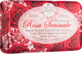 Nesti Dante Rose Sensuale přírodní mýdlo