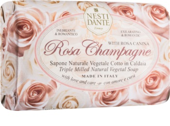 Nesti Dante Rose Champagne přírodní mýdlo