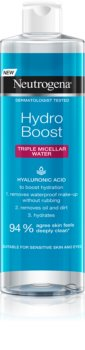 Neutrogena Hydro Boost® Face Micellar Water 3 in 1 with Moisturizing Effect