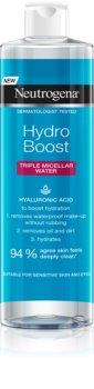 Neutrogena Hydro Boost® Face woda miceralna 3 w 1 o dzłałaniu nawilżającym