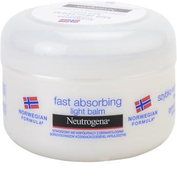 Neutrogena Norwegian Formula® Fast Absorbing balsam de corp cu absorbtie rapida pentru piele normala