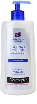 Neutrogena Norwegian Formula® Deep Moisture globinsko vlažilno mleko za telo za suho kožo