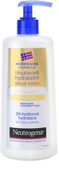 Neutrogena Norwegian Formula® Deep Moisture globinsko vlažilno mleko za telo z oljem