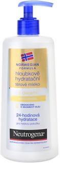 Neutrogena Norwegian Formula® Deep Moisture mélyhidratáló testápoló tej olajjal