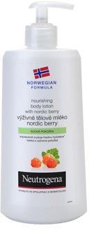 Neutrogena Norwegian Formula® Nordic Berry odżywcze mleczko do ciała do skóry suchej