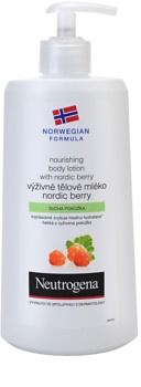 Neutrogena Norwegian Formula® Nordic Berry поживне молочко для тіла для сухої шкіри