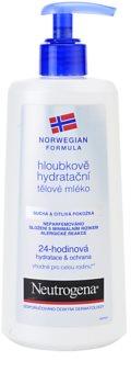 Neutrogena Norwegian Formula® Deep Moisture hĺbkovo hydratačné telové mlieko pre suchú a citlivú pokožku