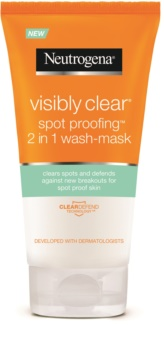 Neutrogena Visibly Clear Spot Proofing Cleansing Emulsion And Mask 2 in 1