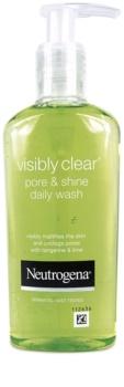 Neutrogena Visibly Clear Pore & Shine čisticí gel proti lesknutí pleti a rozšířeným pórům