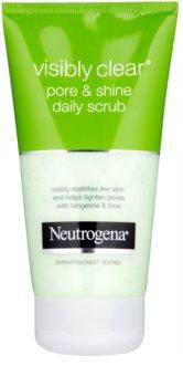 Neutrogena Visibly Clear Pore & Shine Ansiktsskrubb för daglig användning