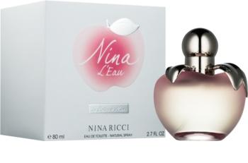 Nina Ricci Nina L'Eau Eau Fraiche toaletní voda pro ženy 80 ml